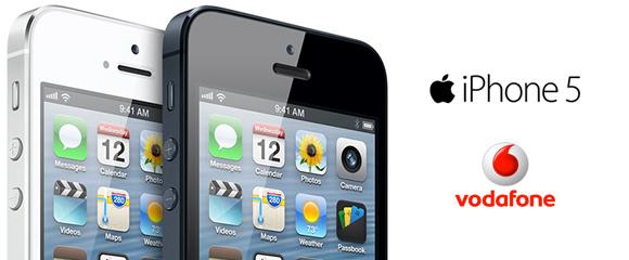 Preços iPhone 5 Vodafone