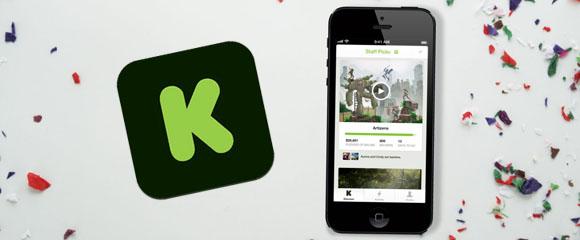 kickstarter app ios