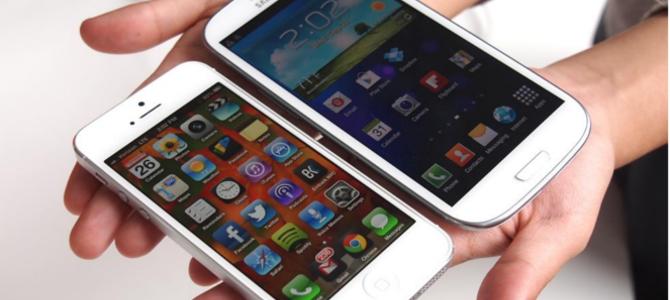 iPhone 5 vs Galaxy SIII
