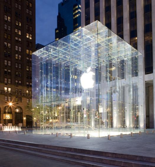 Apple Store em Nova Iorque.