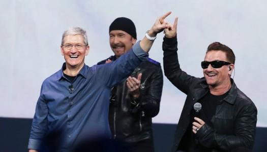 "Bono pede desculpa por ter disponibilizado o novo album dos U2: ""Foi megalomania"""