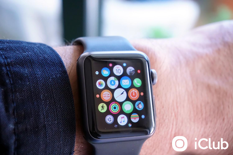 Menu do Apple Watch
