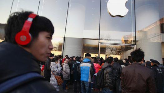 Novos resultados fiscais levam acções da Apple a queda acentuada