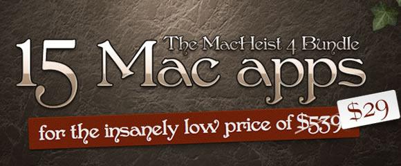MacHeist bundle