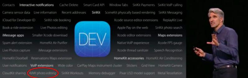 iOS 10 RAW edição de imagem Pedro Topete