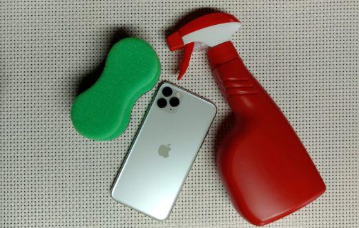 limpar iPhone maneira correta